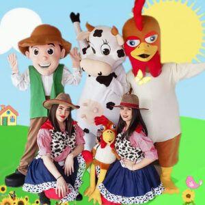Disfraces y muñecos para fiestas infantiles